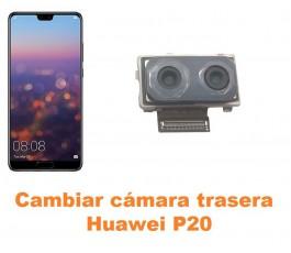 Cambiar cámara trasera Huawei P20