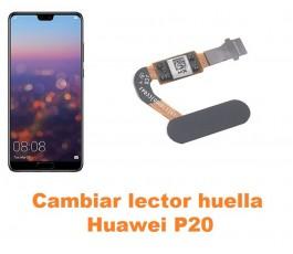 Cambiar lector huella Huawei P20