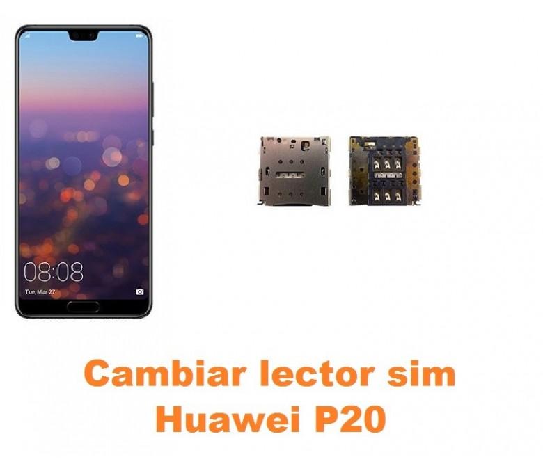 Cambiar lector sim Huawei P20
