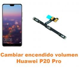 Cambiar encendido y volumen Huawei P20 Pro