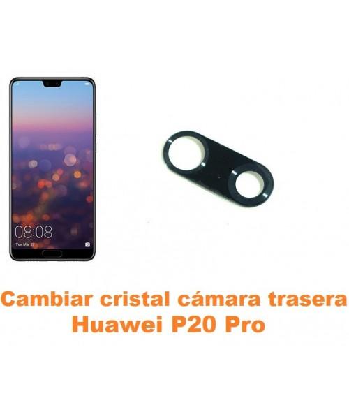 Cambiar cristal cámara trasera Huawei P20 Pro