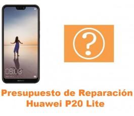 Presupuesto de reparación Huawei P20 Lite