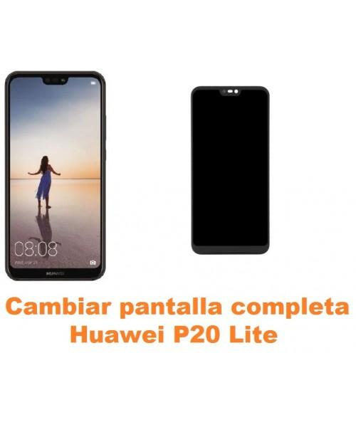Cambiar pantalla completa Huawei P20 Lite