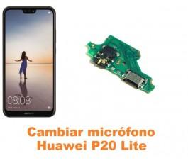 Cambiar micrófono Huawei P20 Lite