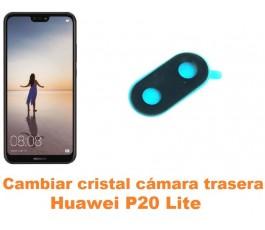 Cambiar cristal cámara trasera Huawei P20 Lite