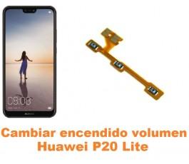 Cambiar encendido y volumen Huawei P20 Lite