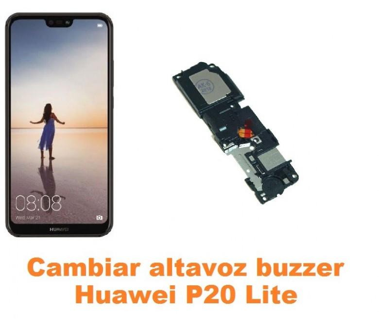 Cambiar altavoz buzzer Huawei P20 Lite