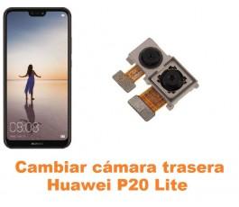 Cambiar cámara trasera Huawei P20 Lite