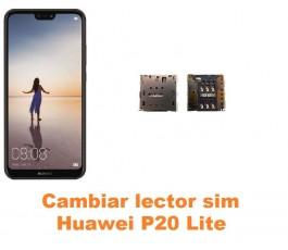 Cambiar lector sim Huawei P20 Lite