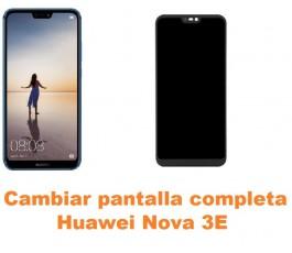Cambiar pantalla completa Huawei Nova 3E
