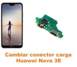 Cambiar conector carga Huawei Nova 3E