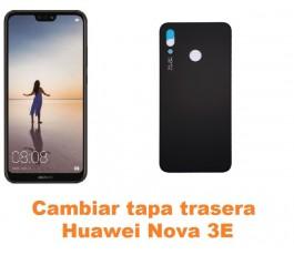 Cambiar tapa trasera Huawei Nova 3E