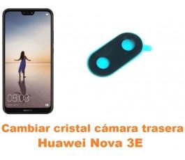Cambiar cristal cámara trasera Huawei Nova 3E