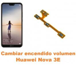 Cambiar encendido y volumen Huawei Nova 3E
