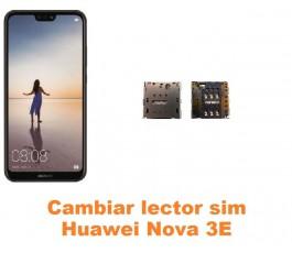 Cambiar lector sim Huawei Nova 3E
