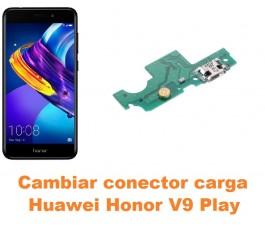 Cambiar conector carga Huawei Honor V9 Play
