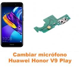 Cambiar micrófono Huawei Honor V9 Play