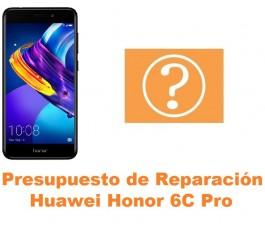 Presupuesto de reparación Huawei Honor 6C Pro