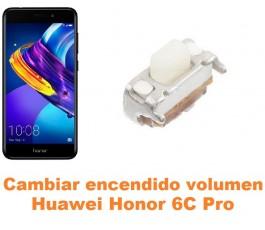 Cambiar encendido y volumen Huawei Honor 6C Pro
