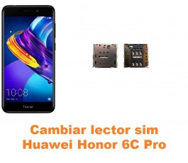 Cambiar lector sim Huawei Honor 6C Pro