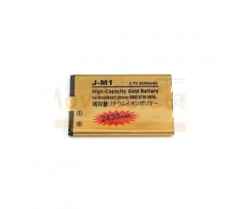 Bateria Gold de 2430mAh para BlackBerry 9790 9850 9860 9900 9930 J-M1 - Imagen 1