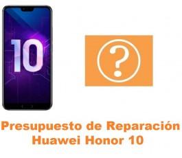Presupuesto de reparación Huawei Honor 10
