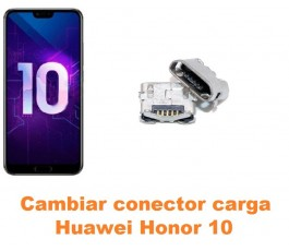 Cambiar conector carga Huawei Honor 10