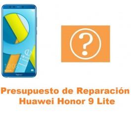 Presupuesto de reparación Huawei Honor 9 Lite
