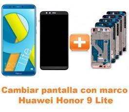 Cambiar pantalla completa con marco Huawei Honor 9 Lite