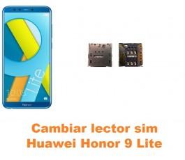 Cambiar lector sim Huawei Honor 9 Lite