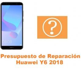 Presupuesto de reparación Huawei Y6 2018