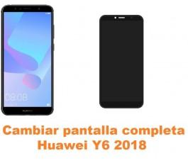 Cambiar pantalla completa Huawei Y6 2018