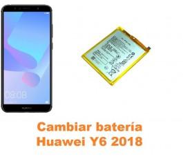 Cambiar batería Huawei Y6 2018