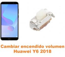 Cambiar encendido y volumen Huawei Y6 2018