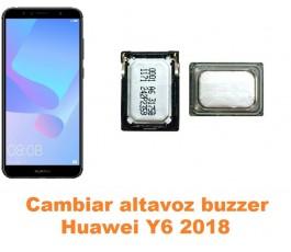 Cambiar altavoz buzzer Huawei Y6 2018