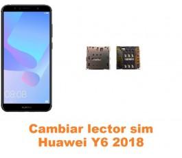 Cambiar lector sim Huawei Y6 2018