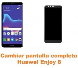 Cambiar pantalla completa Huawei Enjoy 8