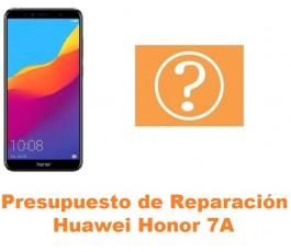 Presupuesto de reparación Huawei Honor 7A