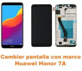Cambiar pantalla completa con marco Huawei Honor 7A