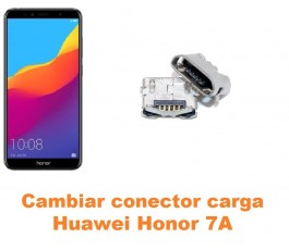 Cambiar conector carga Huawei Honor 7A