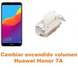Cambiar encendido y volumen Huawei Honor 7A
