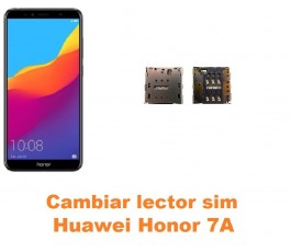 Cambiar lector sim Huawei Honor 7A
