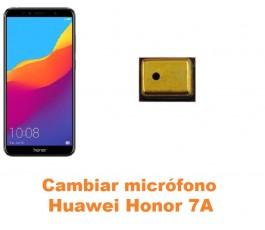 Cambiar micrófono Huawei Honor 7A