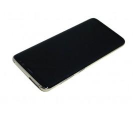 Pantalla completa para Samsung Galaxy S8 G950F dorada usada