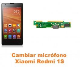 Cambiar micrófono Xiaomi Mi 1S Mi1S