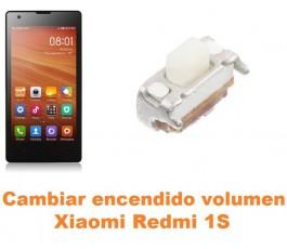 Cambiar encendido y volumen Xiaomi Mi 1S Mi1S