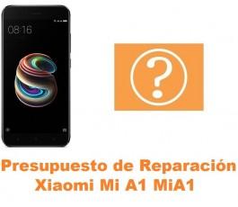Presupuesto de reparación Xiaomi Mi A1 MiA1