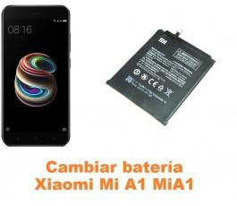 Cambiar batería Xiaomi Mi A1 MiA1