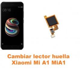 Cambiar lector huella Xiaomi Mi A1 MiA1