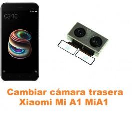 Cambiar cámara trasera Xiaomi Mi A1 MiA1